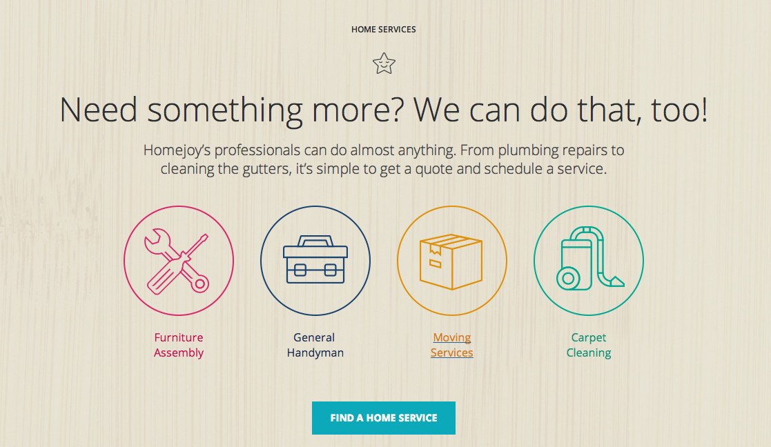 Homejoy Expanding Services