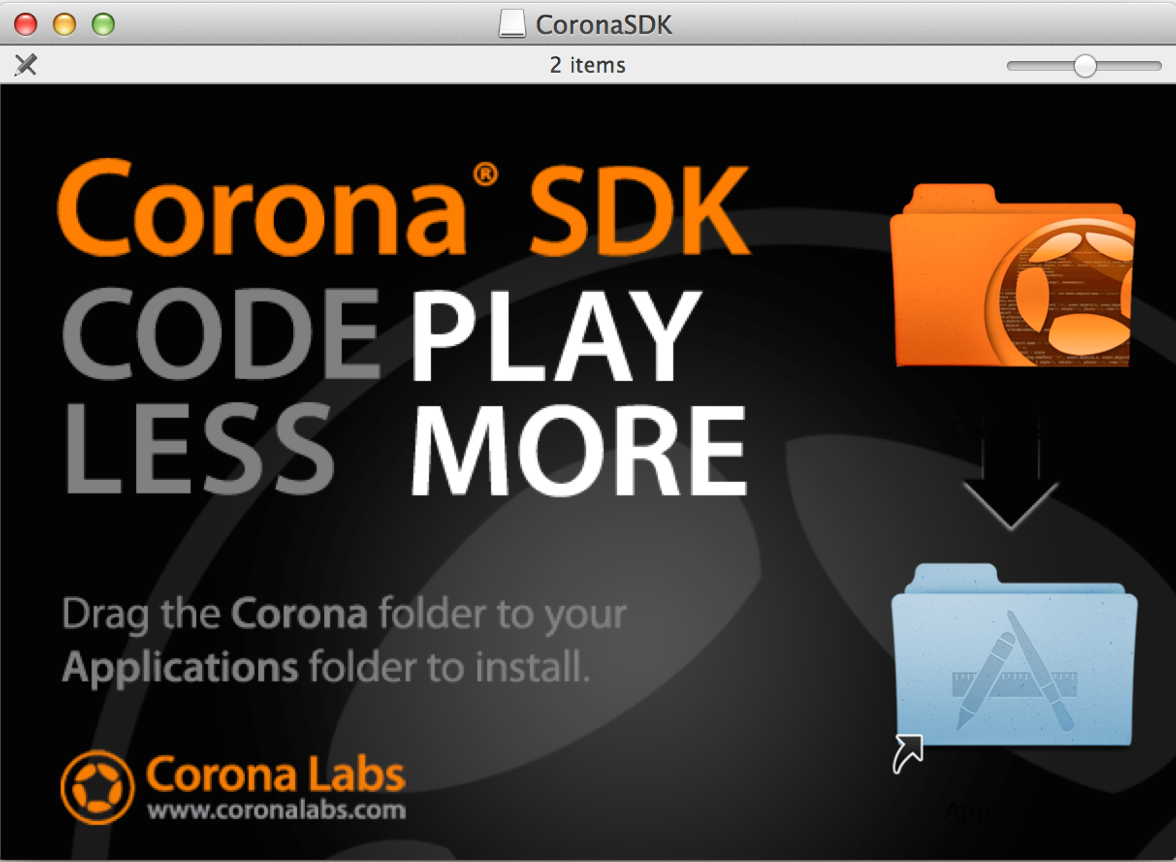 Cross Platform Mobile Development - CoronaSDK