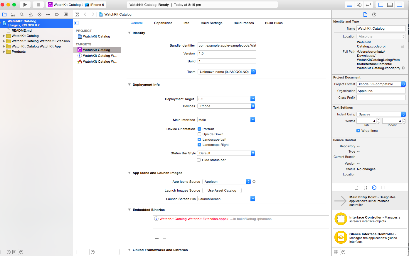 Xcode 6 Project File