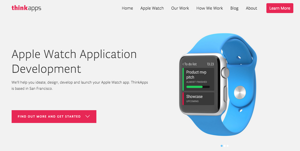 ThinkApps Apple Watch App Development