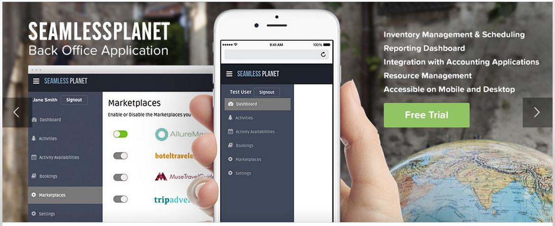 Seamless Planet website