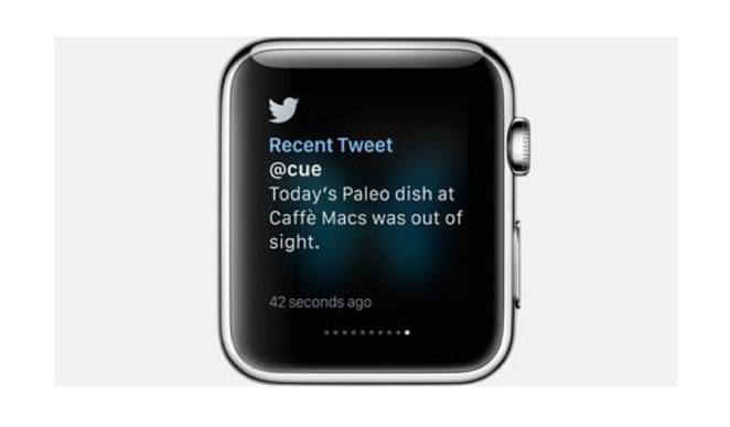 Twitter for Apple Watch