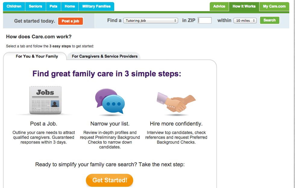 How to Create an Online Marketplace - Care.com