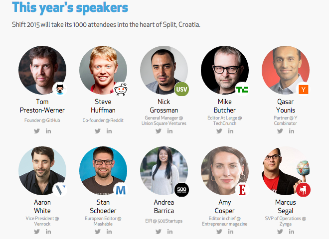 How to Organize a Conference - Speaker lineup