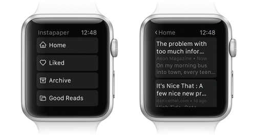 Interview of Instapaper CEO Brian Donohue - Apple Watch app