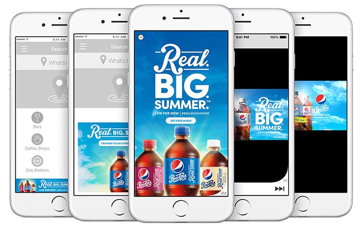 Native Advertising - Apple iAd