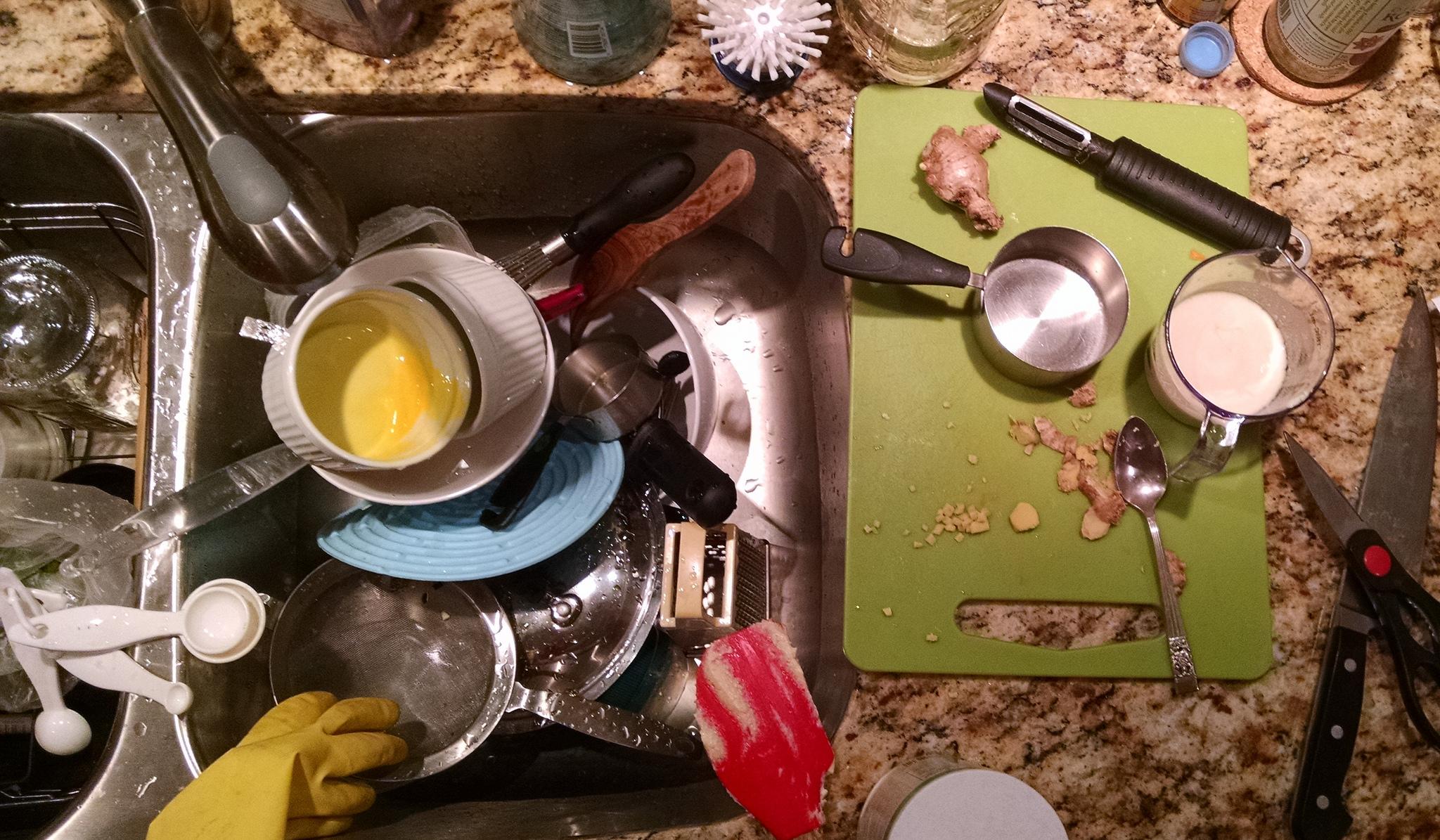 Technical Debt - Messy Kitchen