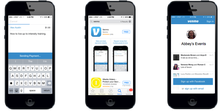 Deep Linking - Social Apps - Venmo