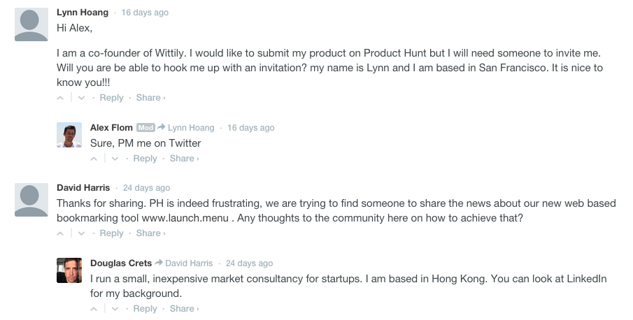 Product Hunt - Wittily Ask