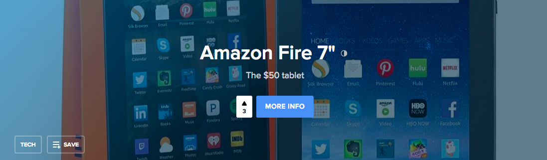 Product Hunt - Amazon Tagline