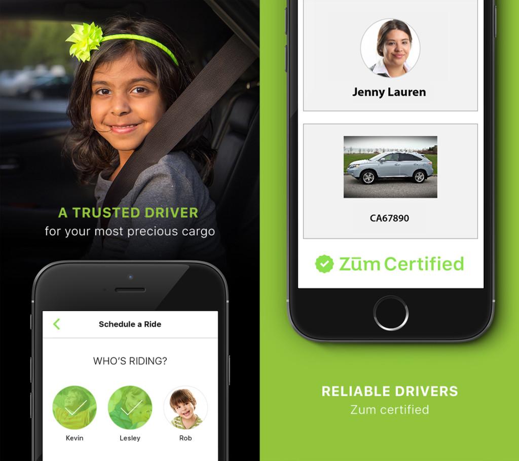 Rideshare - Zum app