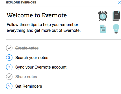 Quick Wins - Example from Evernote 2