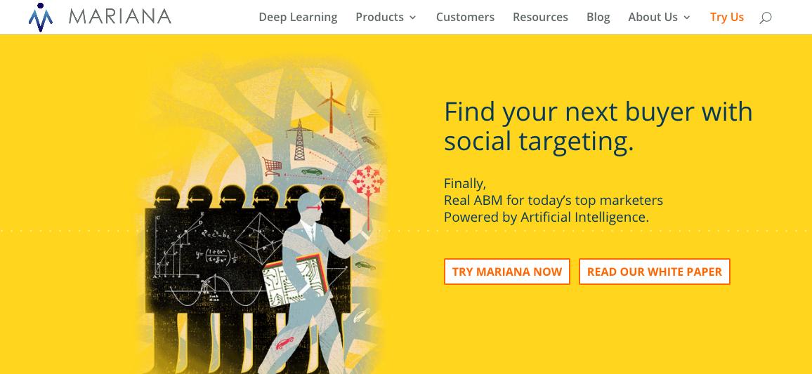 Machine Intelligence Mariana: Homepage