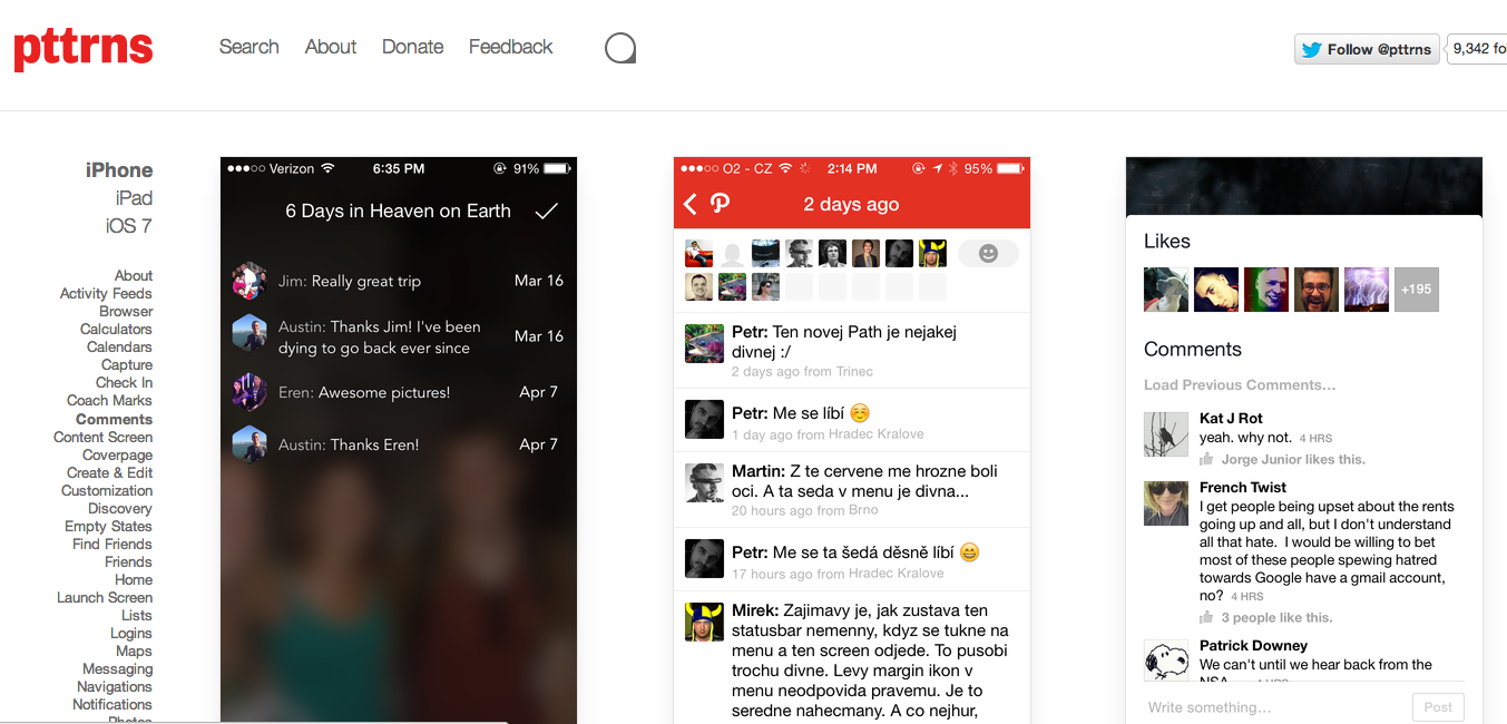 pattrns screenshot