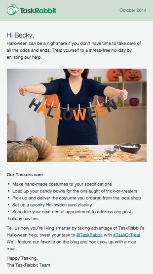 TaskRabbit email