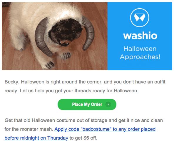Washio email