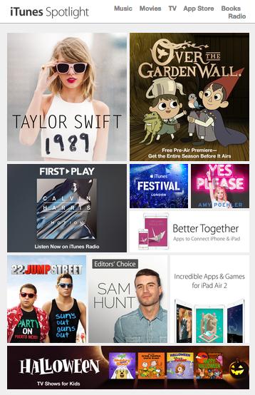 iTunes email