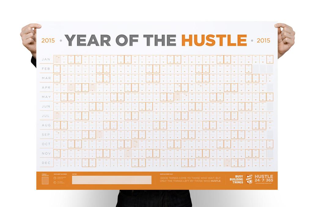 Hustlin Calendar