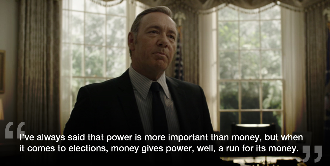 Startup Advice from House of Cards' Frank Underwood